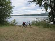 Bike at Elk Lake